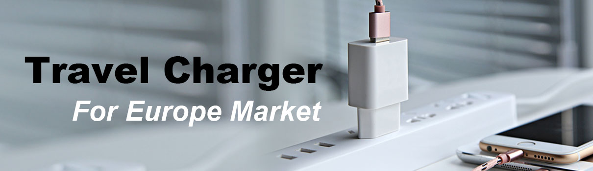 travel charger for europe market