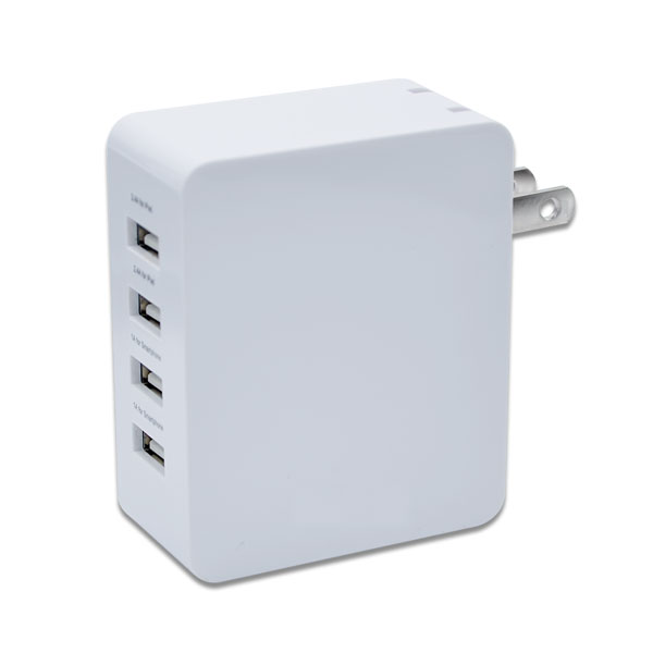 4-port usb wall charger