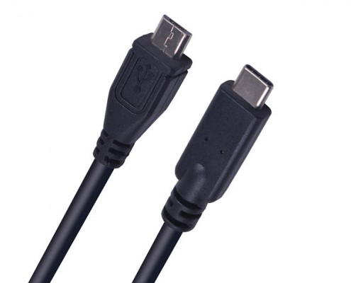 Pressing-Plug-Type-c-to-Micro-USB-Cable