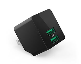 double usb wall charger