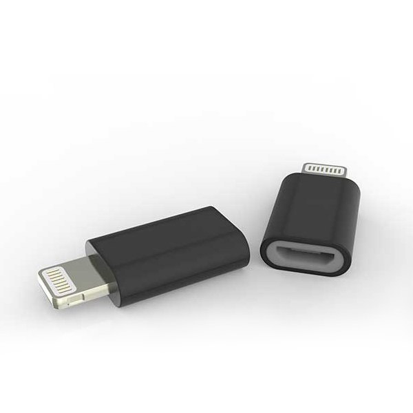 Micro Usb To 8 Pin Lightning Adapter Apple Mfi Certified Msh